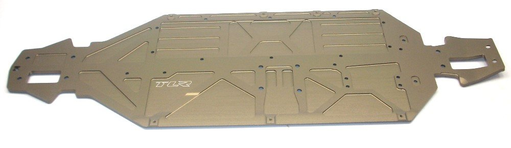 Team Losi TLR 1:8 4WD 8IGHT-T E 3.0 Truggy TLR241010 Chassis Plate TLE®