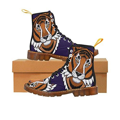 Bonneterie Impressionprint Bûcheron Sans Couture Imprimer Lacets Bottes Chaussures De Mode Pour Les Hommes Tigre Un