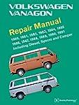 Volkswagen Vanagon Repair Manual: 198...