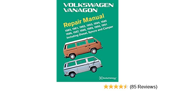 Volkswagen Vanagon Repair Manual: 1980, 1981, 1982, 1983