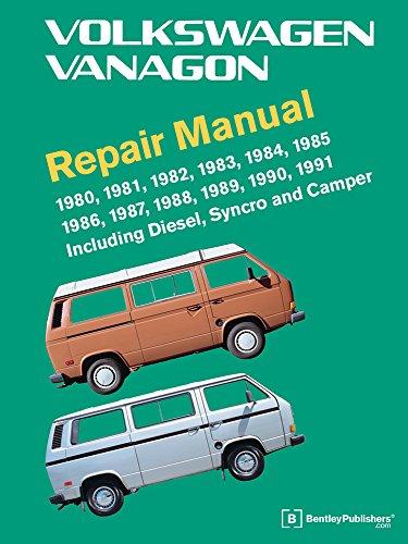 1984 Manual - Volkswagen Vanagon Repair Manual: 1980, 1981, 1982, 1983, 1984, 1985, 1986, 1987, 1988, 1989, 1990, 1991