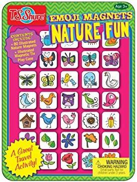 T.S Shure Nature Emoji Mini Magnetic Tin Playset
