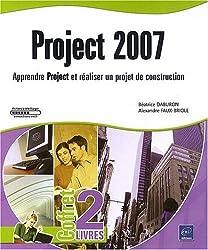 Project 2007 - Coffret de 2 livres : Apprendre Project et réaliser un projet de construction