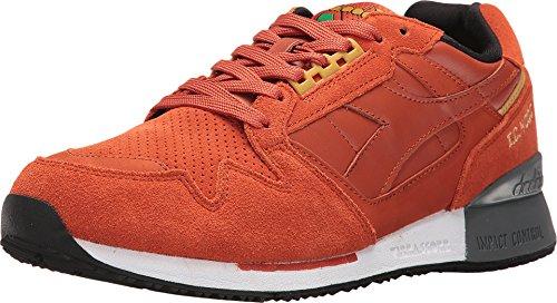 Diadora Unisex I.C. 4000 Premium Burnt Ochre Athletic Shoe (9 D(M) US Men) (Suede Diadora)