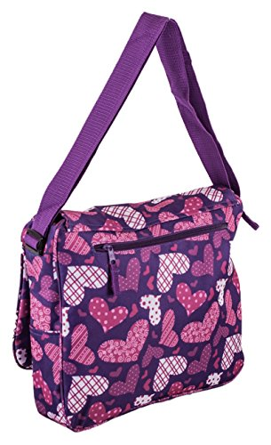 MF , Borsa Messenger  viola PURPLE