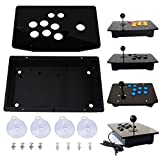 Black Acrylic Panel and Case DIY Set Kits Replacement for Arcade Game