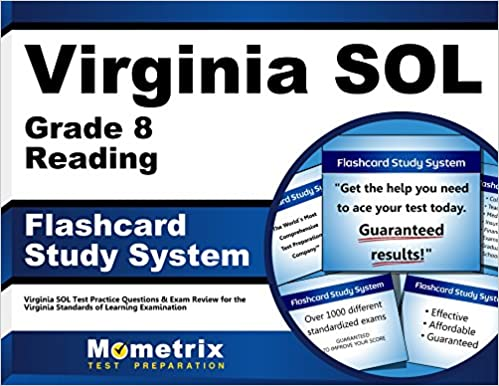 Virginia SOL Grade 8 Reading Flashcard Study System: Virginia SOL