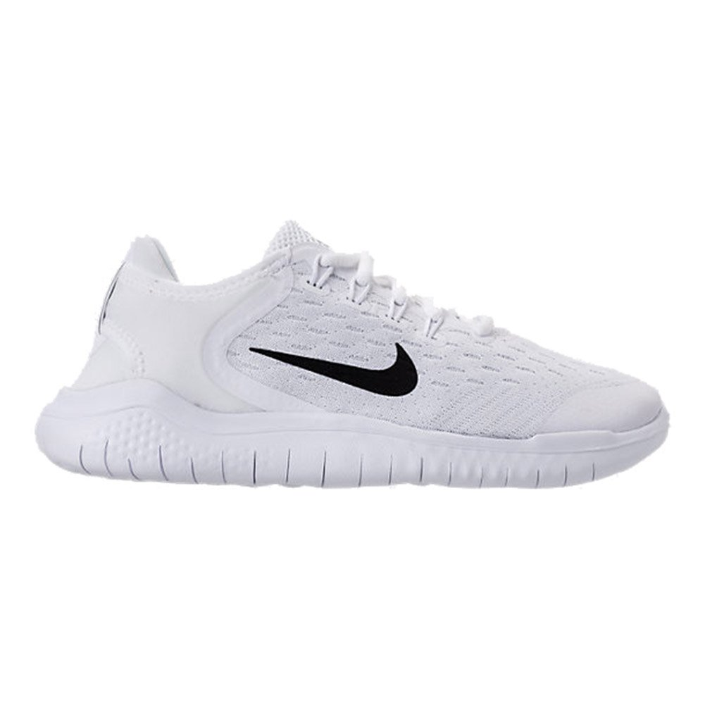 outlet store 6c338 d4c41 Nike Free Rn 2018 (gs) Big Kids Ah3451-100 Size 3.5 White/Black