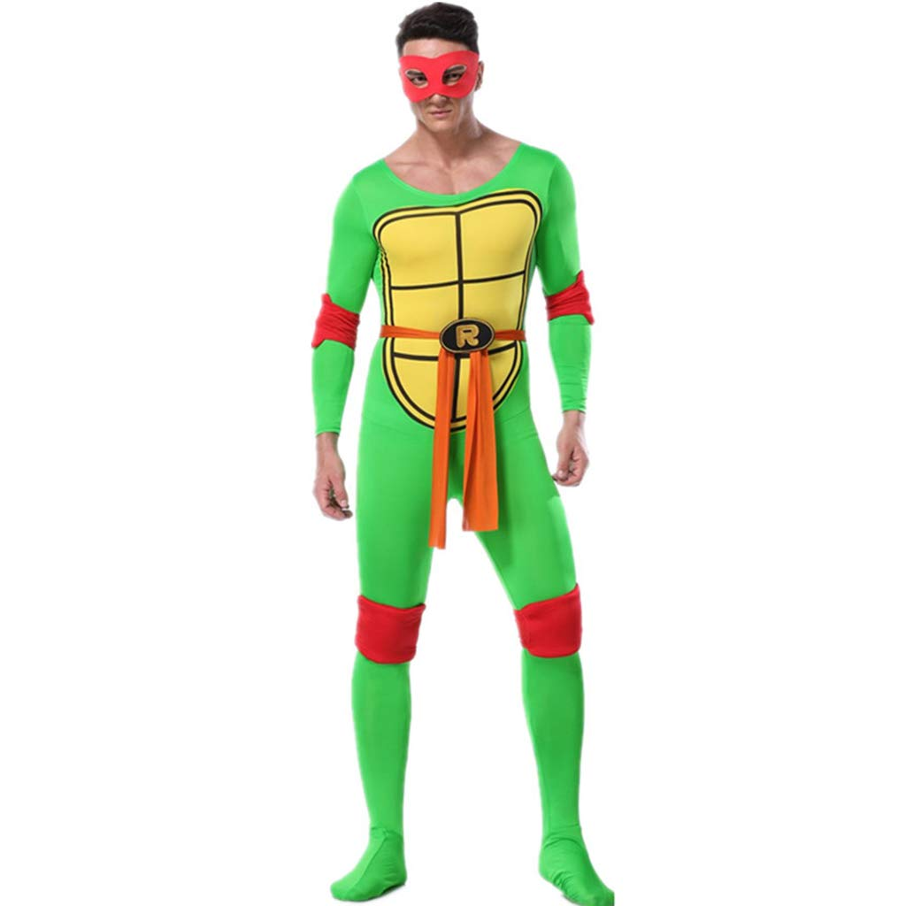 QQWE Disfraz Tortugas Ninja Cosplay del Traje Adulto ...