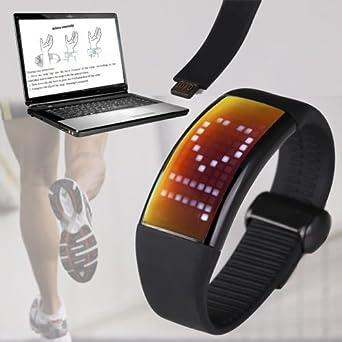 Reloj Digital Sport con Cuenta Calorías, Podómetro y Memoria 8GB ...