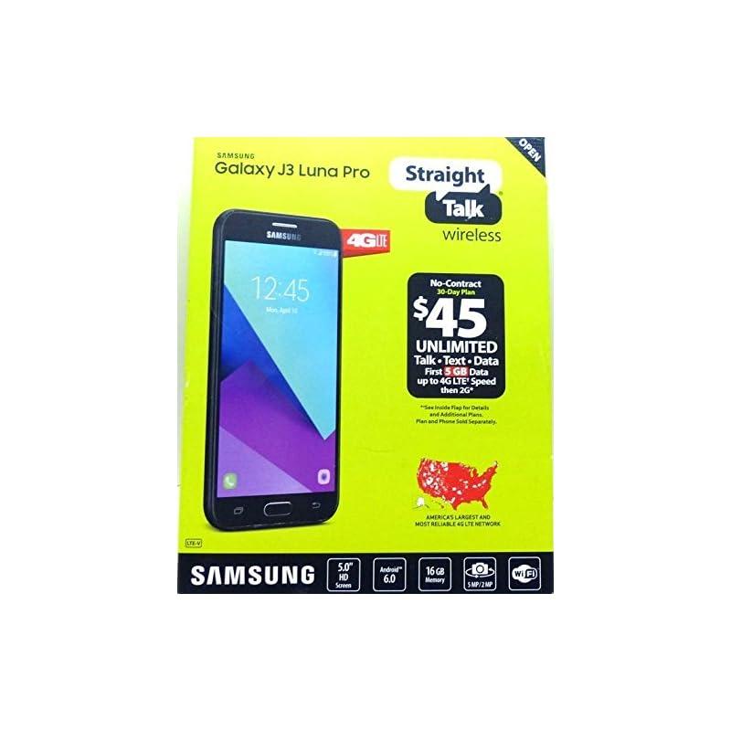 Straight Talk - Samsung Galaxy J3 Luna P