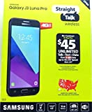 Straight Talk - Samsung Galaxy J3 Luna Pro 4G LTE with 16GB Memory Prepaid Cell Phone - Black