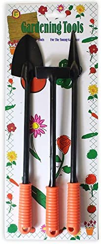 GT-GT3L-RB-YW 3 Piece Gardening Tools Pack of: 1