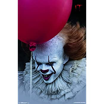 Trends International IT Movie Balloon Wall Poster, 22.375