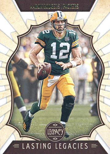 2019 Panini Legacy Lasting Legacies #18 Aaron Rodgers Green Bay Packers NFL Football Trading Card (Green Packer Buy Stock Bay)