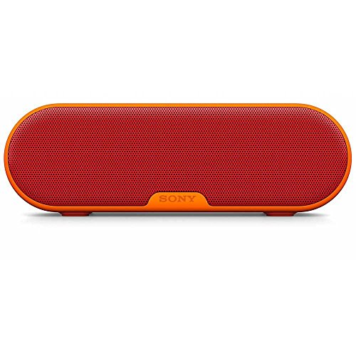 Sony SRSXB2/RED Portable Wireless Speaker with Bluetooth (Red)