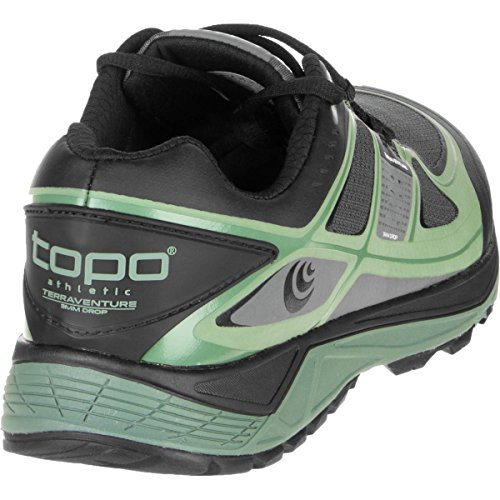 Topo Athletic terraventure Running Schuh – Herren Charcoal/Green