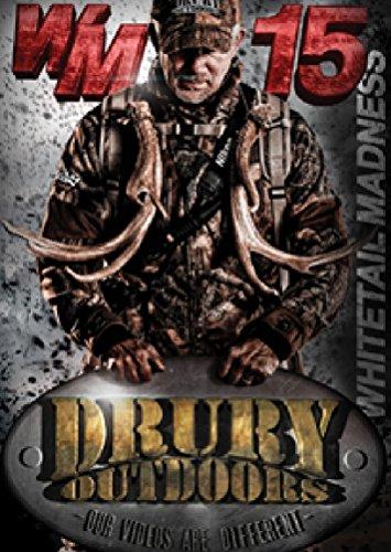DRURY MARKETING INC 12 Drury Whitetail Madness 15 DVD