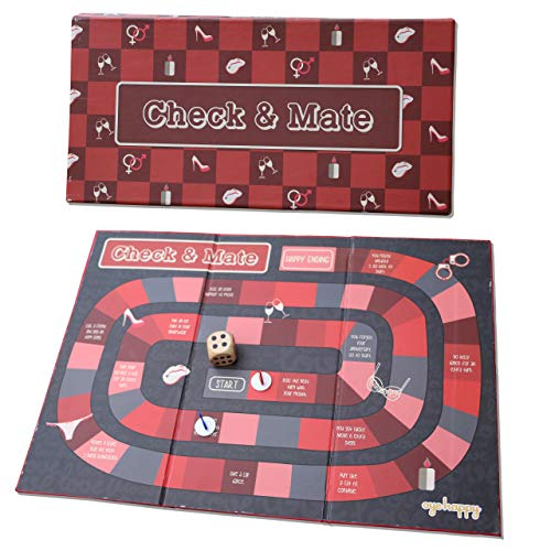 Oye Happy Adult Board Game for Couples with a Booklet of ...