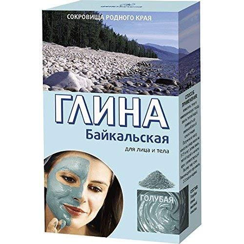 Blue Anti-Aging Clay Powder Natural High Purity for All Skin Types 100g(3.5oz) - Baikal