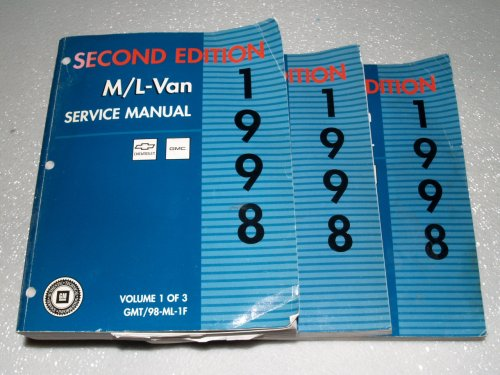 1996 GMC Savana Express/Van Service Manuals (2 Volume Set)