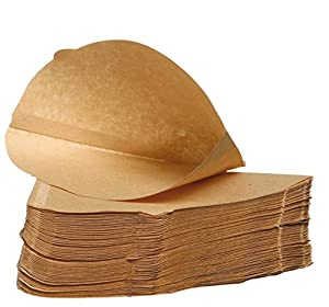Pack of 100 - Unbleached Coffee Papers - Size Four (4