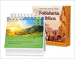 Cada Dia Con Su Frase Sabiduria Biblica: Un Diario Quotebook En Practico Formato de Escritorio