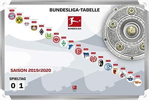 Dfl Deutsche Fussball Liga 1 Bundesliga Magnettabelle 2019 2020