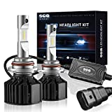 1998 silverado headlights - SEALIGHT X2 9006/HB4 LED Headlight Conversion Kit ( DOT Approved ) - 50W 8000LM Low Beam / Fog Light Bulbs - 16x CSP LED Chips - Cool White 6000K -2 Yr Warranty