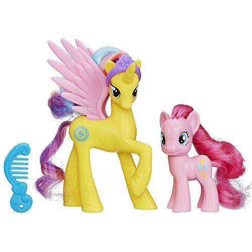 My Little Pony Princess Gold Lily and Pinkie Pie Figures (Renewed)