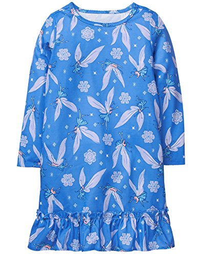 Gymboree Little Girls Winter Print Sleep Gown  Winter Fairies  S