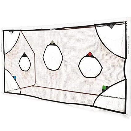 Amazon.com : QuickPlay PRO Soccer Goal Target Net 12X6\u0027 with 7