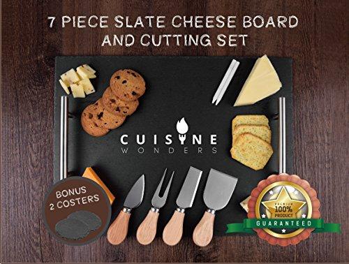 Cuisine Wonders Посуда Large Slate Cheese