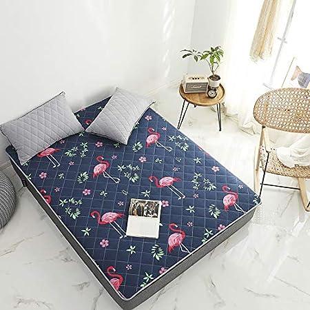 YIQUN Materasso futon Pieghevole Materasso Spesso con Materasso per dormitorio Singolo Singolo Tatami per dormitorio per Camera da Letto,A,90/×190cm