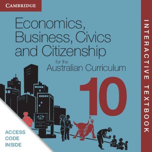 Book Economics, Business, Civics And Citizenship For The