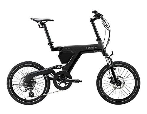 BESV(ベスビー) PSA1(PSA1) 電動アシスト自転車 2018年モデル YTRT06 B07DLNJLJ9ブラック