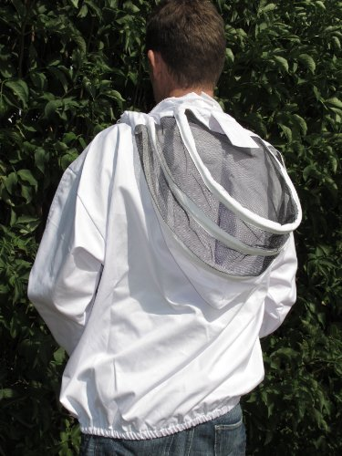 Beekeepers Bee Smock With Removable Fencing Veil - XL EXTRA LARGE