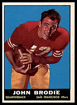 a91cdc7d080e4 Amazon.com: 1961 Topps #59 John Brodie NM RC Rookie: Collectibles ...
