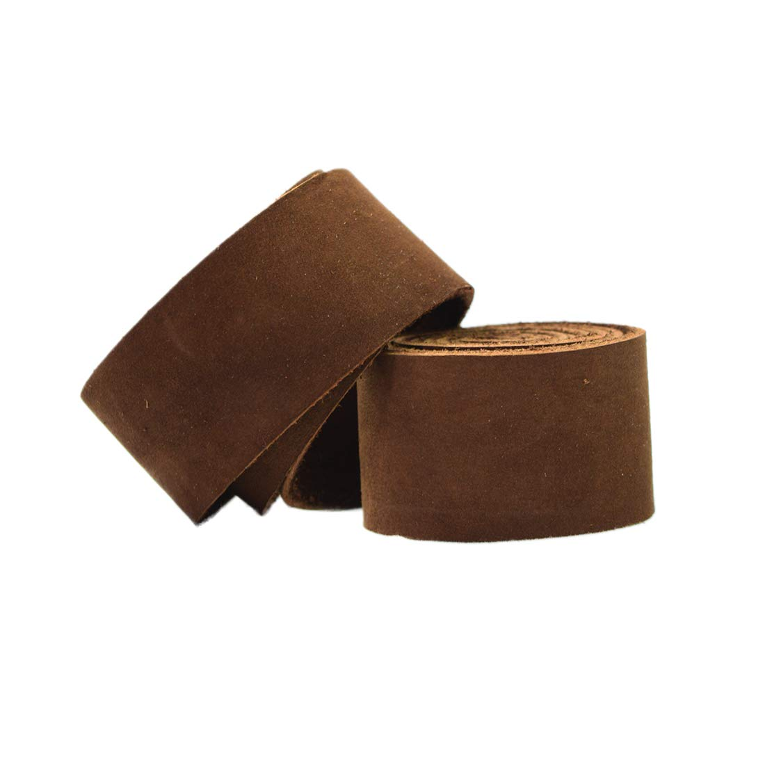 Hide & Drink, Leather Strong Strap (1.25 in.) Wide, Cord Braiding String, Medium Weight (1.8mm Thick) (75 in.) Long for Crafts/Tooling/Workshop :: Swayze Suede