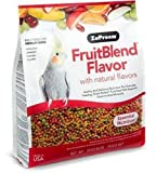 ZuPreem Fruit Blend Bird Food With Natural Fruit Flavors, Parrots and Conures, 17.5 Pound Bag