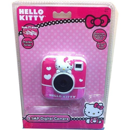 Hello Kitty 2.1 MP Digital Camera with 1.5' Preview Screen Sakar