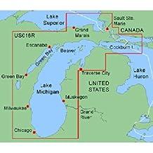 Garmin BlueChart Lake Michigan Freshwater Map microSD Card