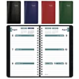 Brownline 2018-2019 Weekly Academic Planner, 6 x 3.5, Week to View Diary, July 2018 to July 2019, Assorted Colors, Color May Vary (CA103.ASX-19)