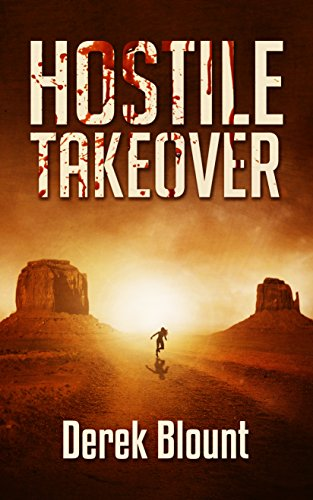 For John, the exclusive rehab in the New Mexico desert sounded perfect.  Quiet. Isolated.  But when participants start dying, John's only hope for survival is to launch a hostile takeover of the program.  Hostile Takeover by Derek Blount