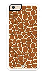 iZERCASE iPhone 6 PLUS Case Giraffe Spots Animal Pattern RUBBER CASE - Fits iPhone 6 PLUS T-Mobile, Verizon, AT&T, Sprint and International by icecream design