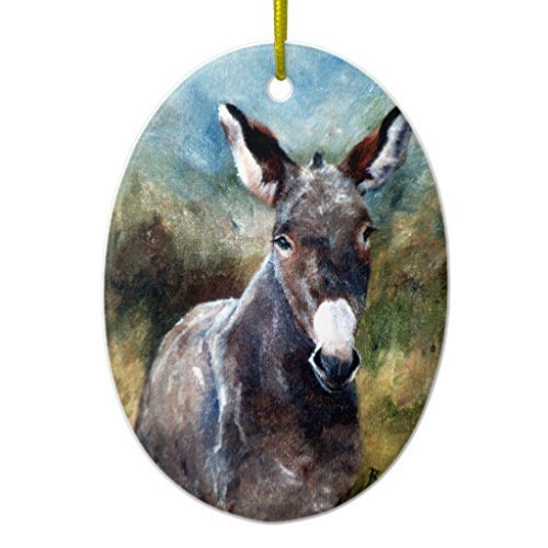 Outdoor Lighted Donkey - 6