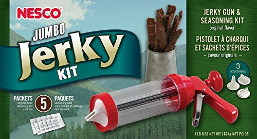 Nesco BJX-5 Jumbo Jerky Works Jerky Gun & Seasoning Kit