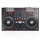 Reloop Terminal Mix 4 Controller Bundled with Serato DJ and Serato Video, Black (TM4-DJ-VIDEO)