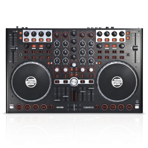 - Reloop Terminal Mix 4 Controller Bundled with Serato DJ and Serato Video, Black (TM4-DJ-VIDEO)