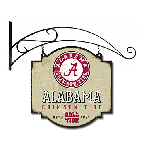 Sign Alabama Tide Crimson - Winning Streak NCAA Alabama Crimson Tide Vintage Tavern Sign